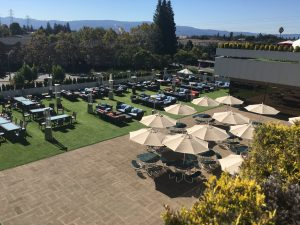 Go Silicon Valley - Roof-top terrace of PnP Building